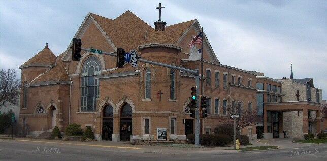 First United Methodist Church Building in Clinton Iowa